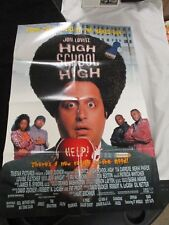 Vintage Movie Poster 1 sh High School High Jon Lovitz Tia Carrere 1996