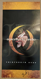 A Perfect Circle 13th Step Album Poster Autographed - Billy Howerdel & James Iha