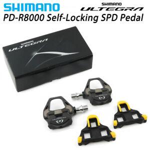 Shimano Ultegra PD-R8000 Road TT Triathlon Bike Carbon Pedals & SM-SH11 Cleats