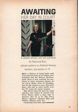 1963 TV ARTICLE~BETTE DAVIS on MADISON AVENUE, BANKERS AND WOMAN IN TELEVISION