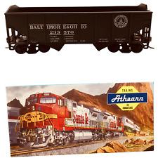 Athearn Ho Scale Model Train Black 34' R/S Hopper Baltimore & Ohio #5441   Train