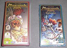 Mascarade + expansión Juego de cartas mesa familiar fiesta engaño roles ocultos