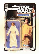"HASBRO STAR WARS THE BLACK SERIES 40TH ANNIVERSARY 6"" PRINCESS LEIA  FIGURE"