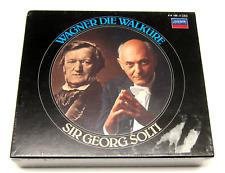 Wagner Opera, Die Walkure Valkyrie, Solti, London 4-CD Set New, Sealed