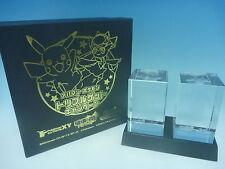 Novelty Rare Pocket Monsters POKEMON Pikachu 3D crystal Import from JAPAN