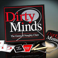 Dirty Minds Board Game Drinking Adult Game Naughty Clues Adults Fun Party Game