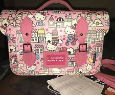 Zatchels Uk x Hello Kitty Sanrio Leather Crossbody Satchel Very Rare
