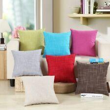 Waist Pillowcase Decoración Sofá Sólido Funda de cojín Suministros para el hogar
