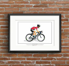 Mark Cavendish-Giro d'Italia 2013 Art affiche format A2