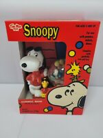 Vintage Snoopy Joe Cool Tim Mee Gumball Bank NOS 1970's