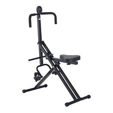 HOMCOM 5 Levels Upright Crunch Exerciser Horse Riding Machine Cardio Ab Training