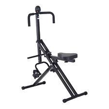 Homcom 5 niveaux en position verticale crunch exerciser équitation machine cardio ab training