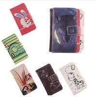 Funda flip libro piel sintetica diseño estampado para Wiko Fever 4G