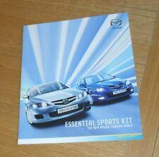Mazda 3 & Mazda 6 Tamura Special Edition Brochure 2007