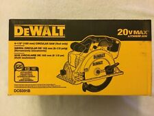 "New Dewalt DCS391B 20V 20 Volt Max 6-1/2"" Cordless Circular Saw W/ Blade (NIB)"