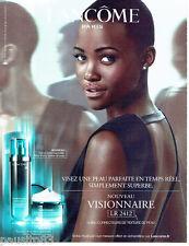 PUBLICITE ADVERTISING 056  2015  Lancome Cosmétiques Visionnaire