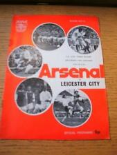 13/01/1973 Arsenal v Leicester City [FA Cup] (Slight Rusty Staples). No obvious