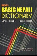 Ratna's Basic Nepali Dictionary: English-Nepali and Nepali-English - Script and
