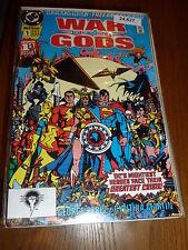 WAR Of The GODS - Vol 1 - No 1  - Date 09/1991 - DC Comics (No Bar Code)