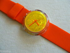 1997 Pop Swatch Watch Feathers New PMZ105PACK