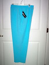 NWT -  ALIA ladies slacks - sz 8 Short - Sky Blue -  pockets-  Very pretty!!!
