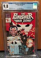 The Punisher: War Zone #1 CGC 9.8 WP