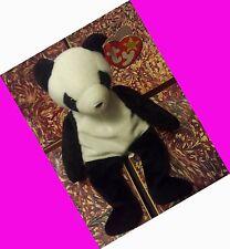 Ty Beanie Baby FORTUNE Panda Bear Retired 12/6/1997 98 Tush Errors RARE GASPORT