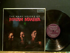MIRIAM MAKEBA  The Many Voices Of . . .   LP    Afro. Scat      Lovely copy !!