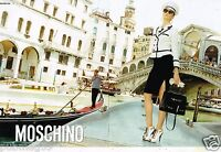 Publicité Advertising 2011 (2 pages) Pret à porter Moschino