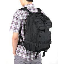 Sac à dos en nylon étanche militaire camping trekking outdoor 20-35L noir