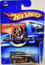HOT WHEELS 2006 HONDA CIVIC TYPE R BLACK ERROR