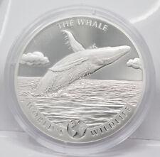 Kongo 20 Francs 2020 - Buckelwal