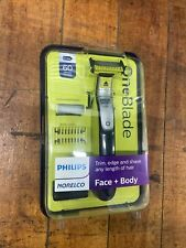 Philips Norelco OneBlade Face and Body Trimmer Brand New, Sealed