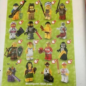 GENUINE LEGO MINIFIGURES FROM  SERIES 3 CHOOSE THE ONE YOU NEED
