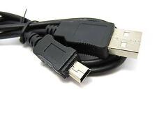 90cm Negro USB-A 2.0 a Mini USB Cargador con Cable de alimentación de 5V 2A Cable Adaptador