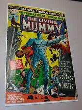 MARVEL COMICS AUGUST 1973 SUPERNATURAL THRILLERS # 5 1ST APPEARANCE LIVING MUMMY