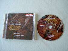 LEIGHTON Cello Concerto/Symphony No. 3 Wallfisch Mackie Thomson CD album