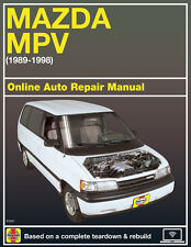 manual mazda mpv 2000