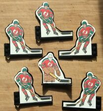 Original Coleco Table Hockey Players 1980's New Jersey Devils