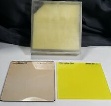 "3"" x 3-1/4"" RESIN FILTER AMBICO 7931 81C WARMING  and 7796 Yellow Mist Pre-owned"