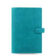 Filofax Personal Size Finsbury Leather Organizer Aqua Leather 025444
