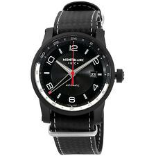 Montblanc Timewalker Urban Speed UTC E-Strap Automatic Black Dial Mens Watch