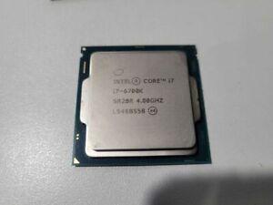 Intel Core i7-6700K Quad-Core Processer 4.00 GHz Socket 1151 SR2BR - Desktop
