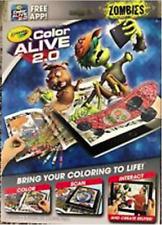 Color Alive 2.0 - Zombies by Crayola - Color Scan Interact Free App - Fun!