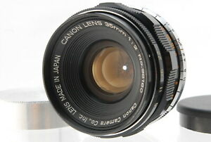 【MINT】 Canon 35mm F/2 Leica Screw Mount L39 LTM MF Lens From JAPAN #1030