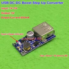 5V Micro USB Step Up Converter DC-DC 1V-5V to 5V Boost Board Mobile Power Supply