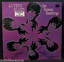 LA VERN BAKER-HER GREATEST RECORDINGS-Rare Promotional Album-ATCO #SD 33-372