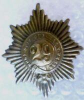 29th Worcestershire Regiment of Foot Glengarry Badge ANTIQUE Original RARE