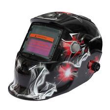 4/9-13 Solar Automatic Darkening Welding Helmet Face Shield Industrial Spark