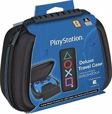Sony PlayStation 4 Controller Case Protective Deluxe Travel Nylon Exterior Black